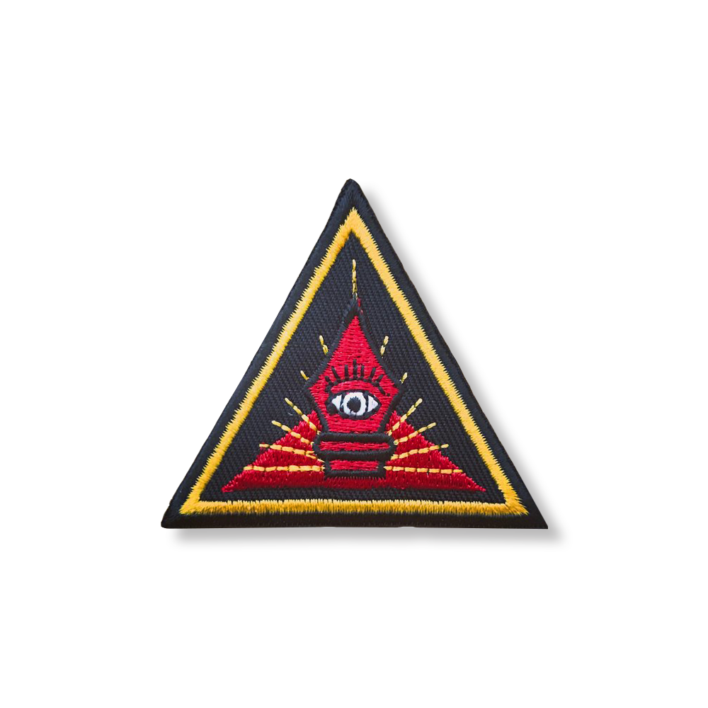 Image of All Seeing Pen - Embroidered Patch