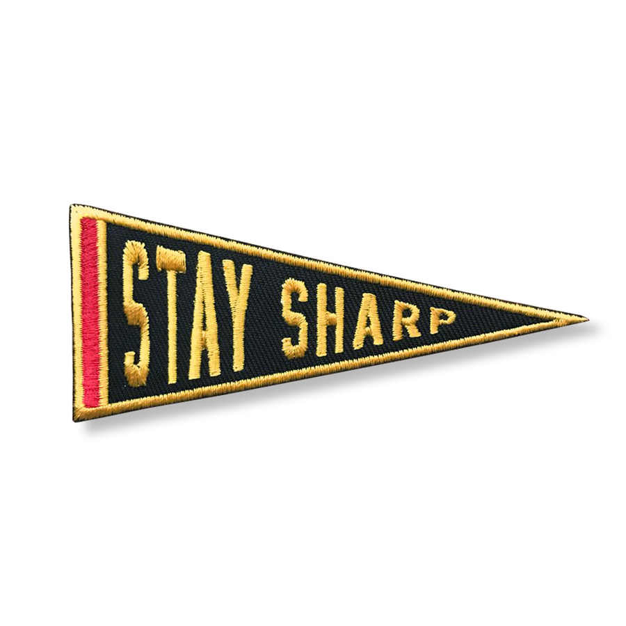 Image of Stay Sharp - Patch