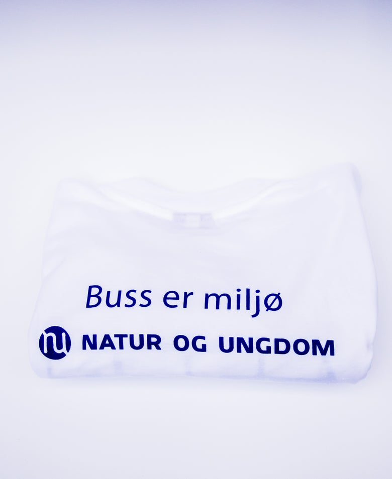 Image of T-skjorter med miljøbudskap