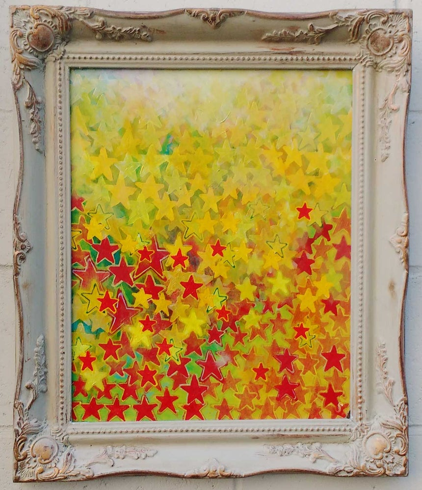"""Image of SEAN WORRALL - """"Stargrowth in a Found Frame"""""""