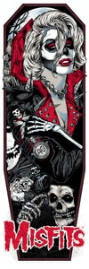 Image of MISFITS - GHOUL FIEND ART PRINT - RED