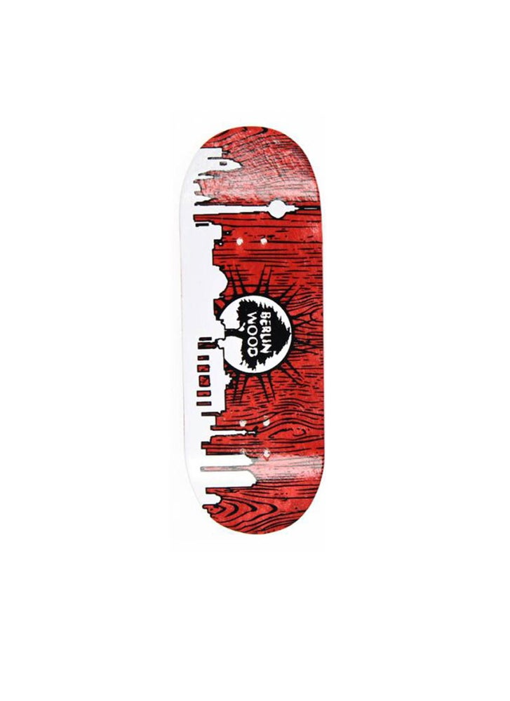 "Image of Berlinwood ""Red Skyline"" Fingerboard Deck"