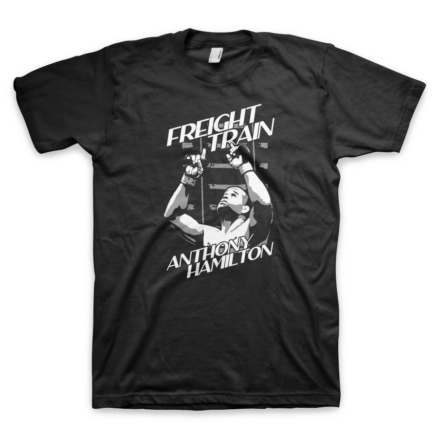 "Image of Anthony ""Freight Train"" Hamilton Signature Tee Men's"