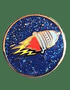 Image of Pussy Rocket Pin!