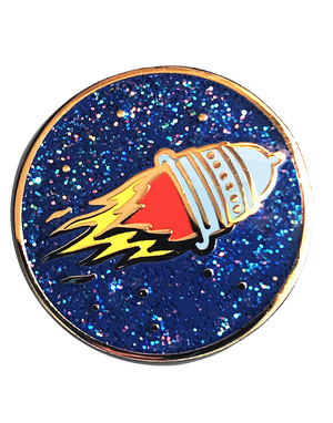 Pussy Rocket Pin!