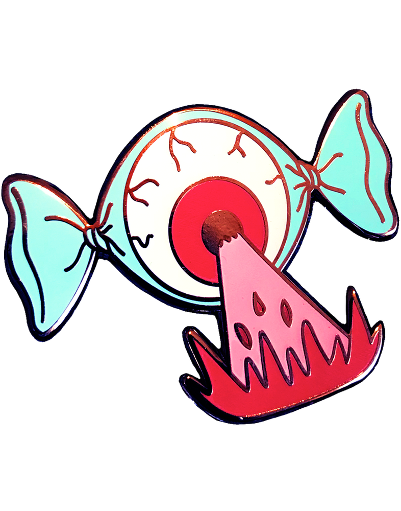 Image of Eye Candy with Flavor Blast Pin!