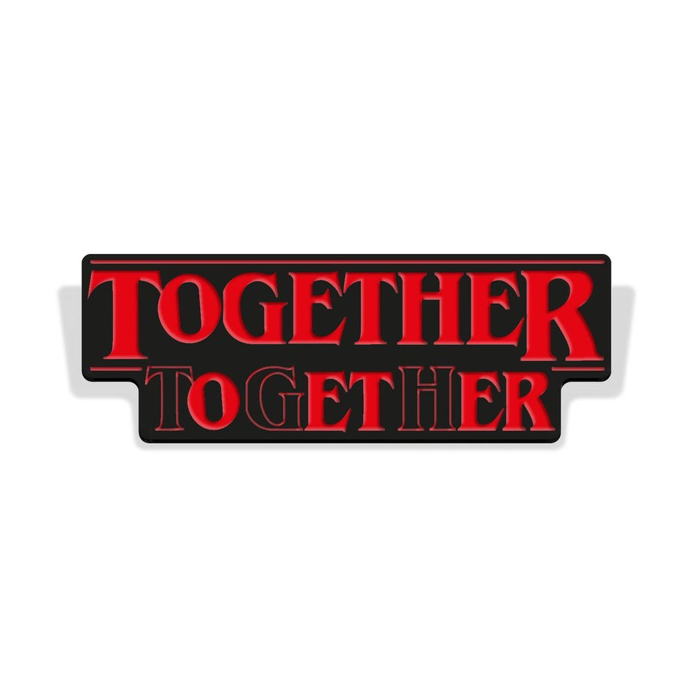 Image of 'To Get Her' ENAMEL PIN !