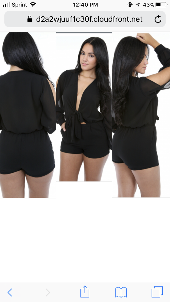 Image of Hey you romper