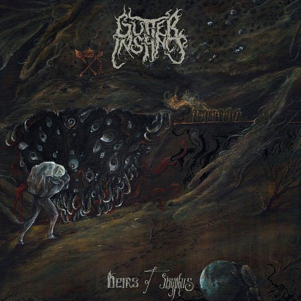 """Image of GUTTER INSTINCT """"Heirs Of Sisyphus"""" CD"""