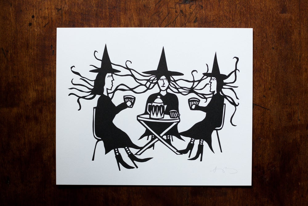 "Image of ""Witch Fika"" Letterpress Print"