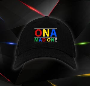 Image of OnaMadOne Baseball Cap Rainbow