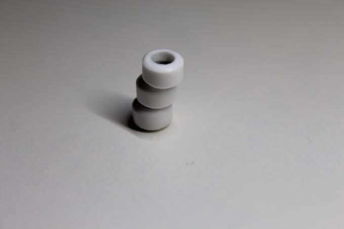 Image of 65D- M3 classic white Urethane wheels