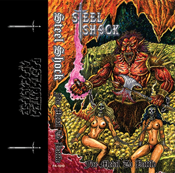 """Image of Steel Shock """"For Metal To Battle"""" CS /// PA-1010"""