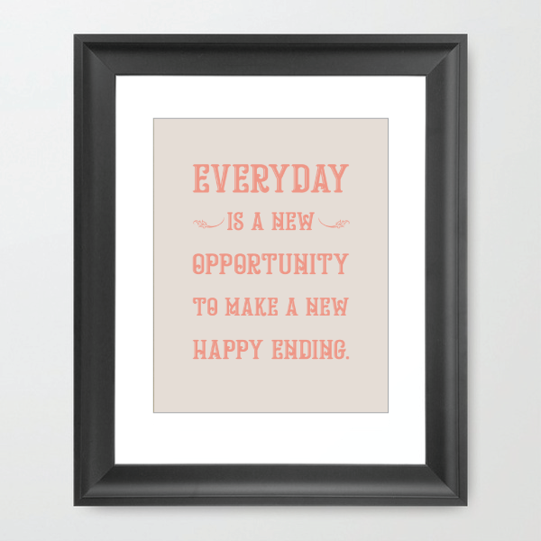 Everyday is a new Opportunity - HOUSE15143