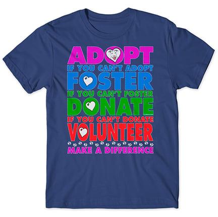 Image of ADOPT t-shirt