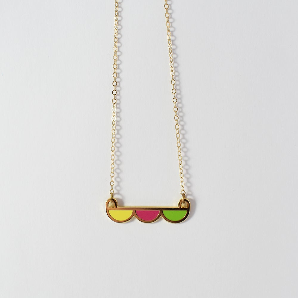 Image of Scallop Necklace