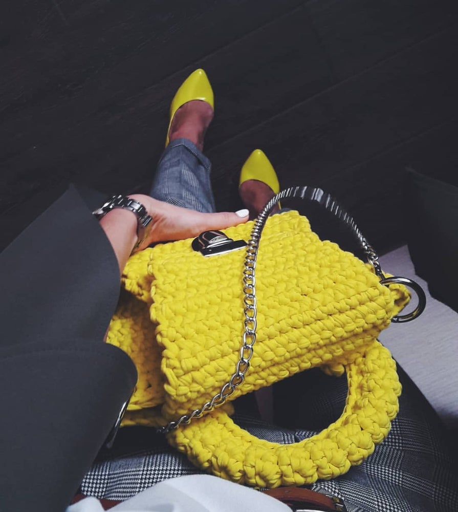 Image of Handmade Fancy clutch
