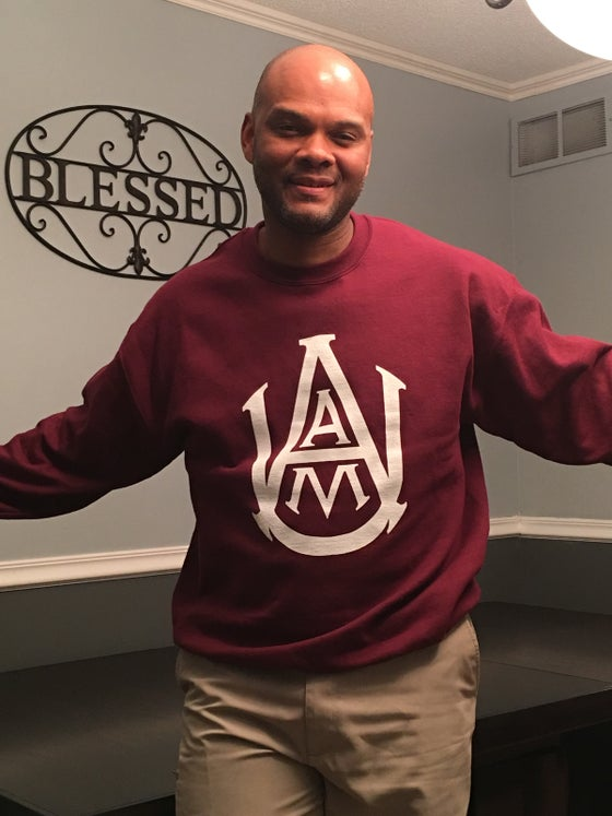 Image of AAMU Crewneck Sweatshirt