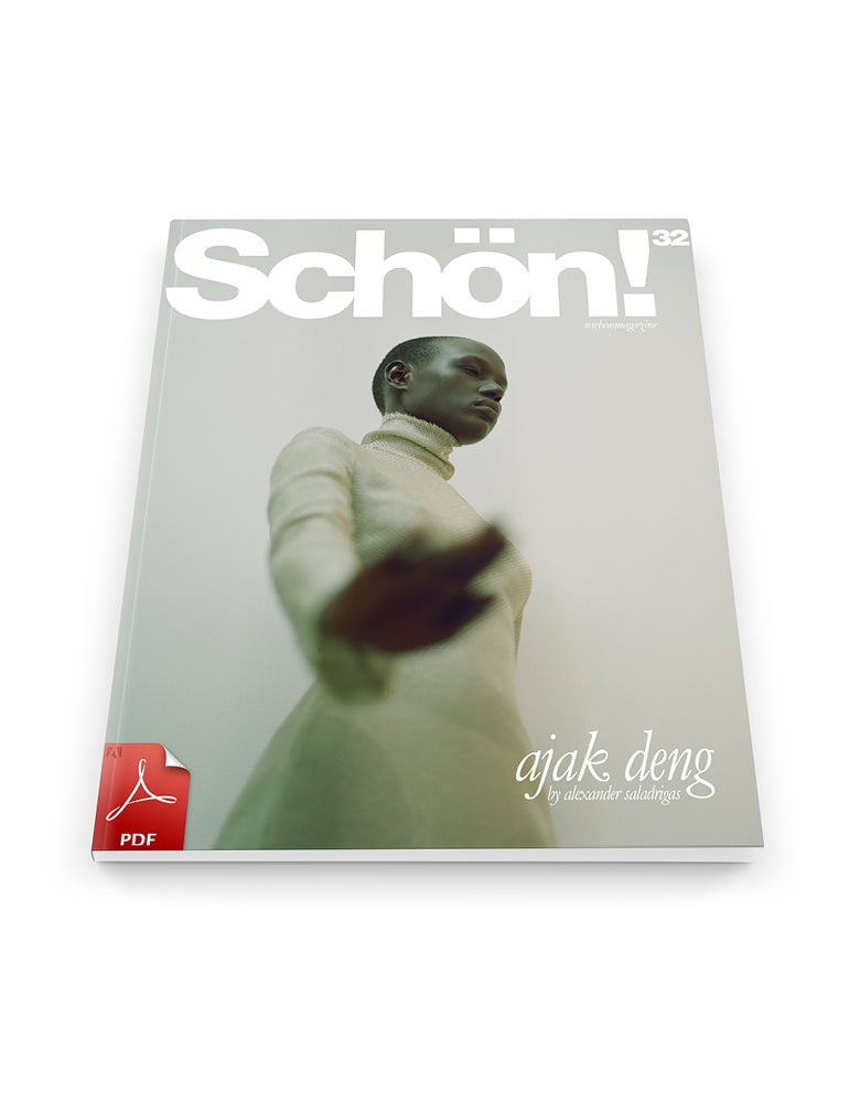 Image of Schön! 32 | Ajak Deng by Alexander Saladrigas / eBook Download