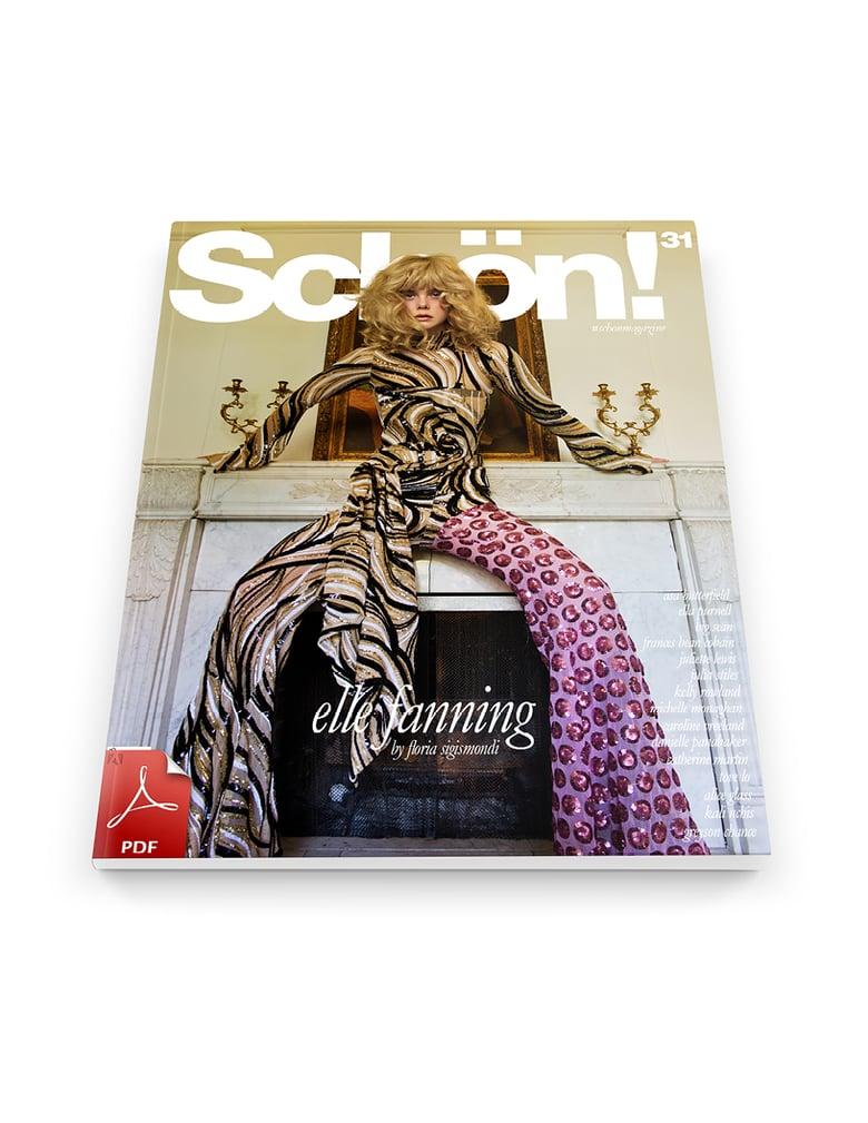 Image of Schön! 31 | Elle Fanning by Floria Sigismondi / eBook Download