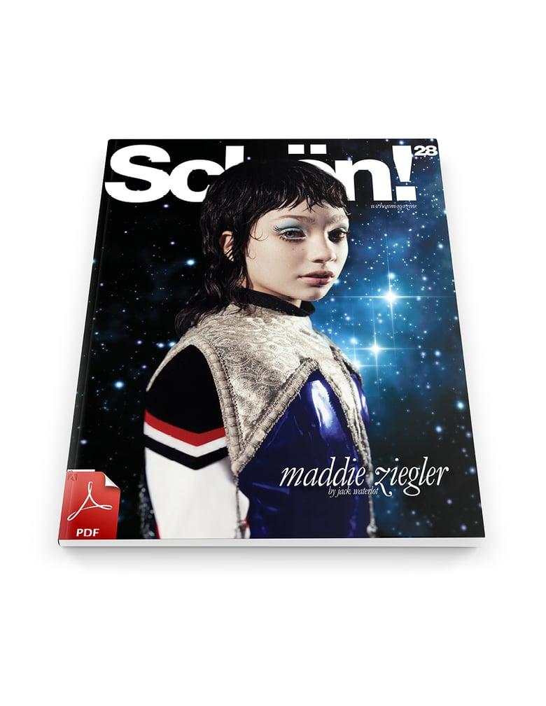 Image of Schön! 28 | Maddie Ziegler #Happy / eBook Download