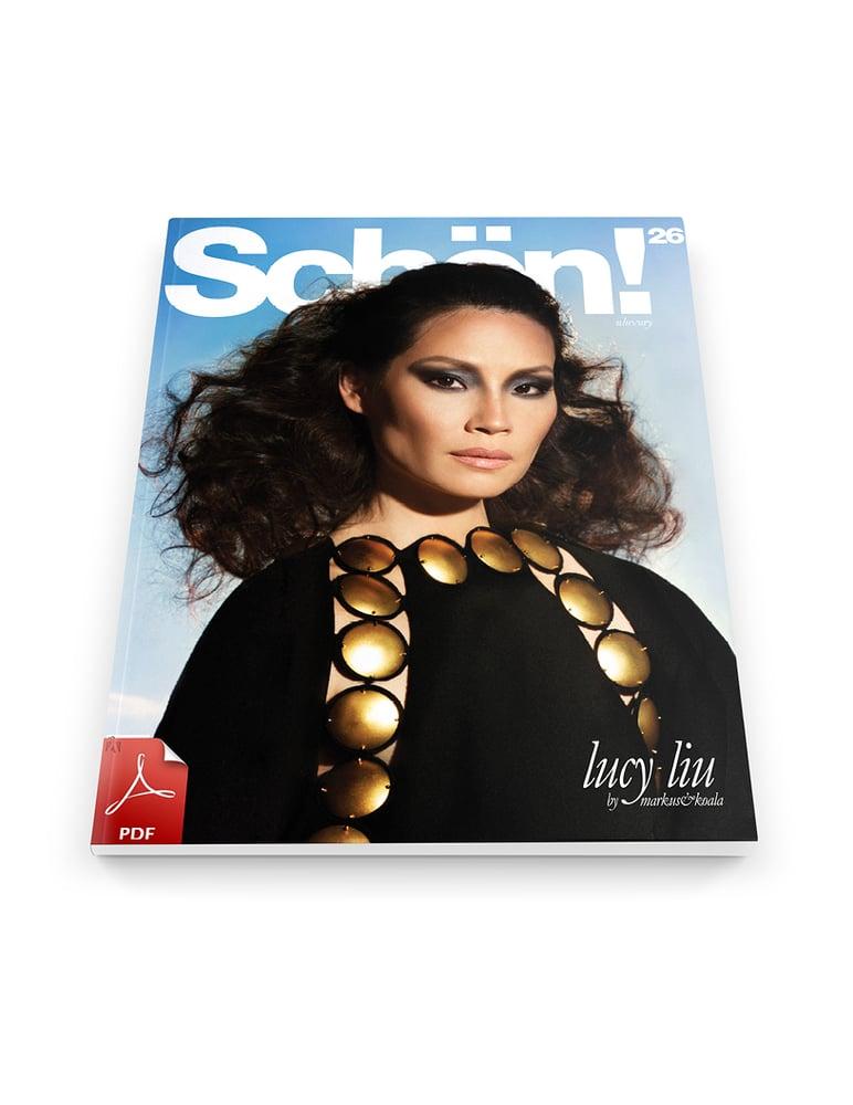 Image of Schön! 26 | Lucy Liu #Luxury / eBook download