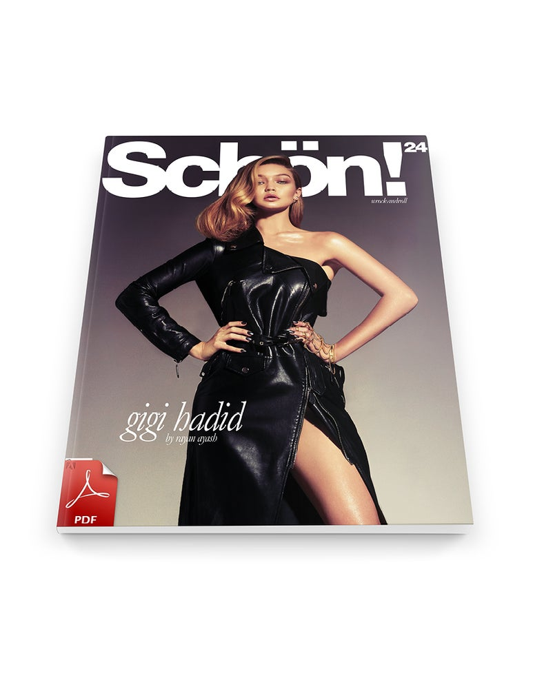 Image of Schön! 24 | Gigi Hadid / eBook download