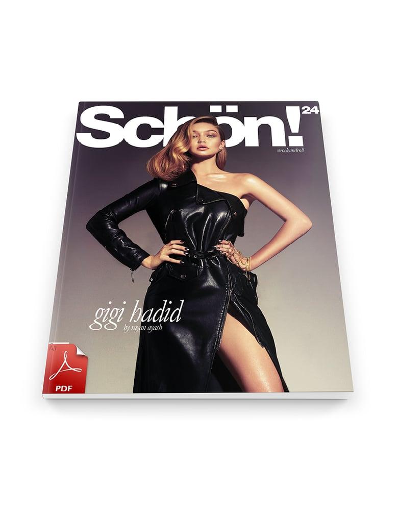 Image of Schön! 24 | Gigi Hadid / eBook download