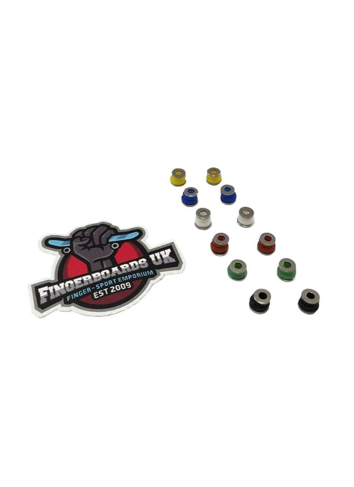 Image of Fingerboards UK Rubber Bushings & Metal Washer Kit