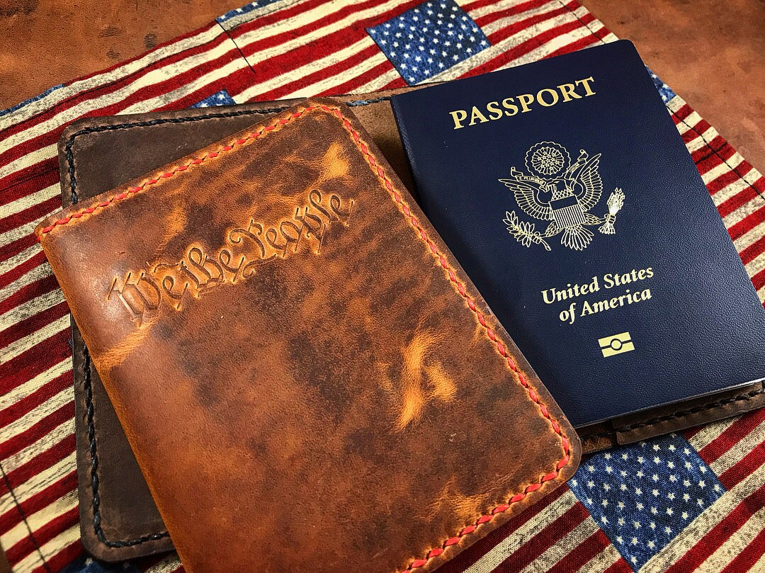 Image of MB&L Passport Cover