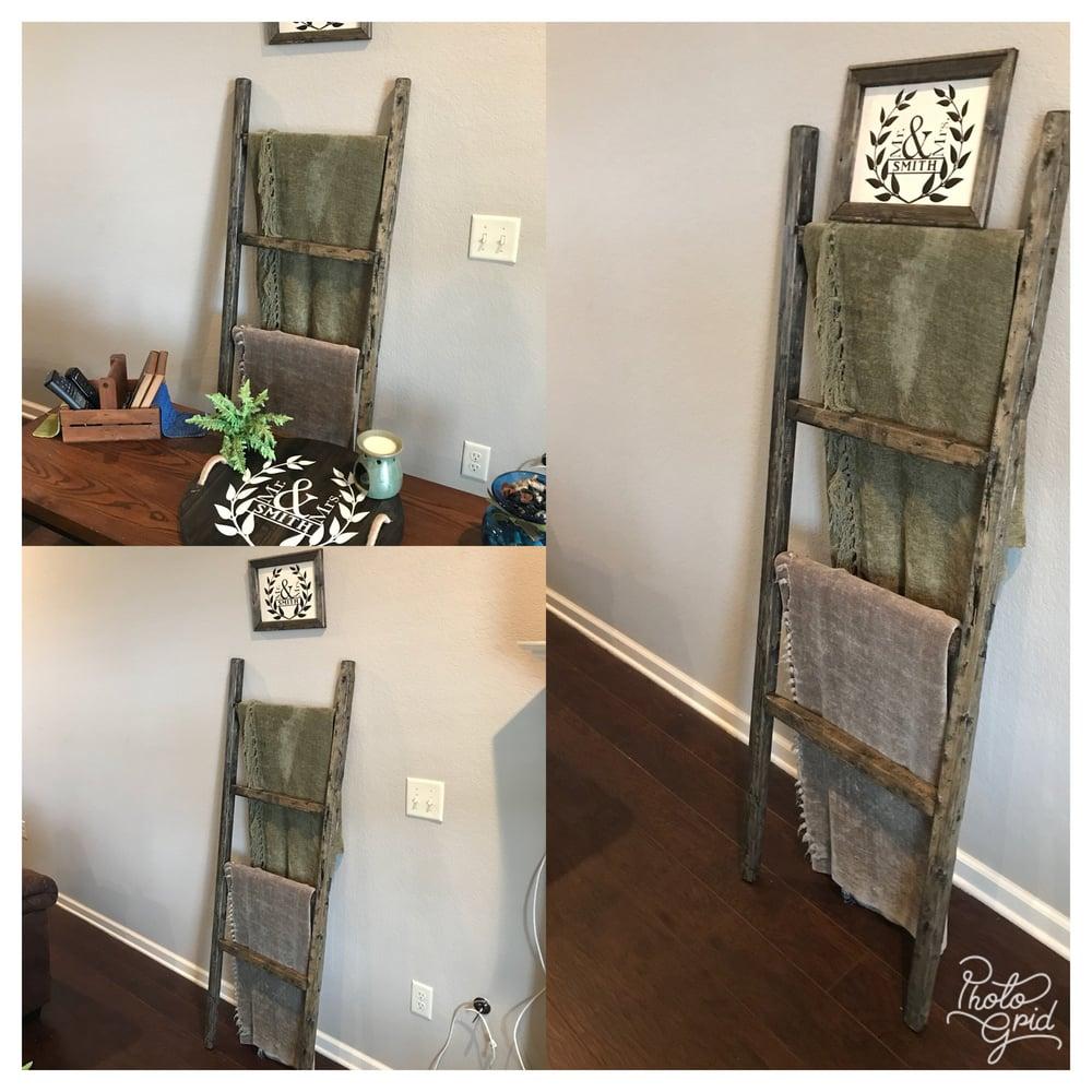 Image of Blanket Ladders