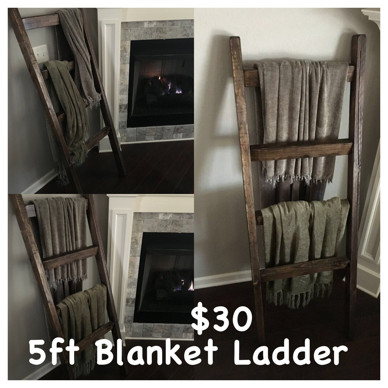 Image of Thick Blanket Ladder