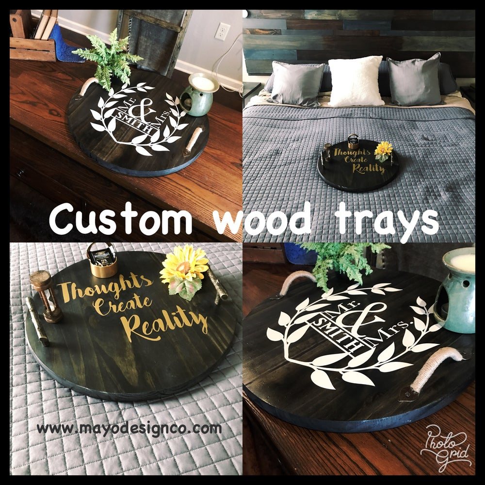 Image of Custom Wood Trays