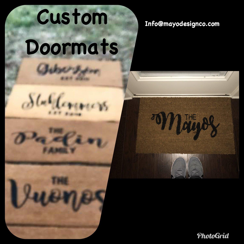 Image of Personalized Door Mats