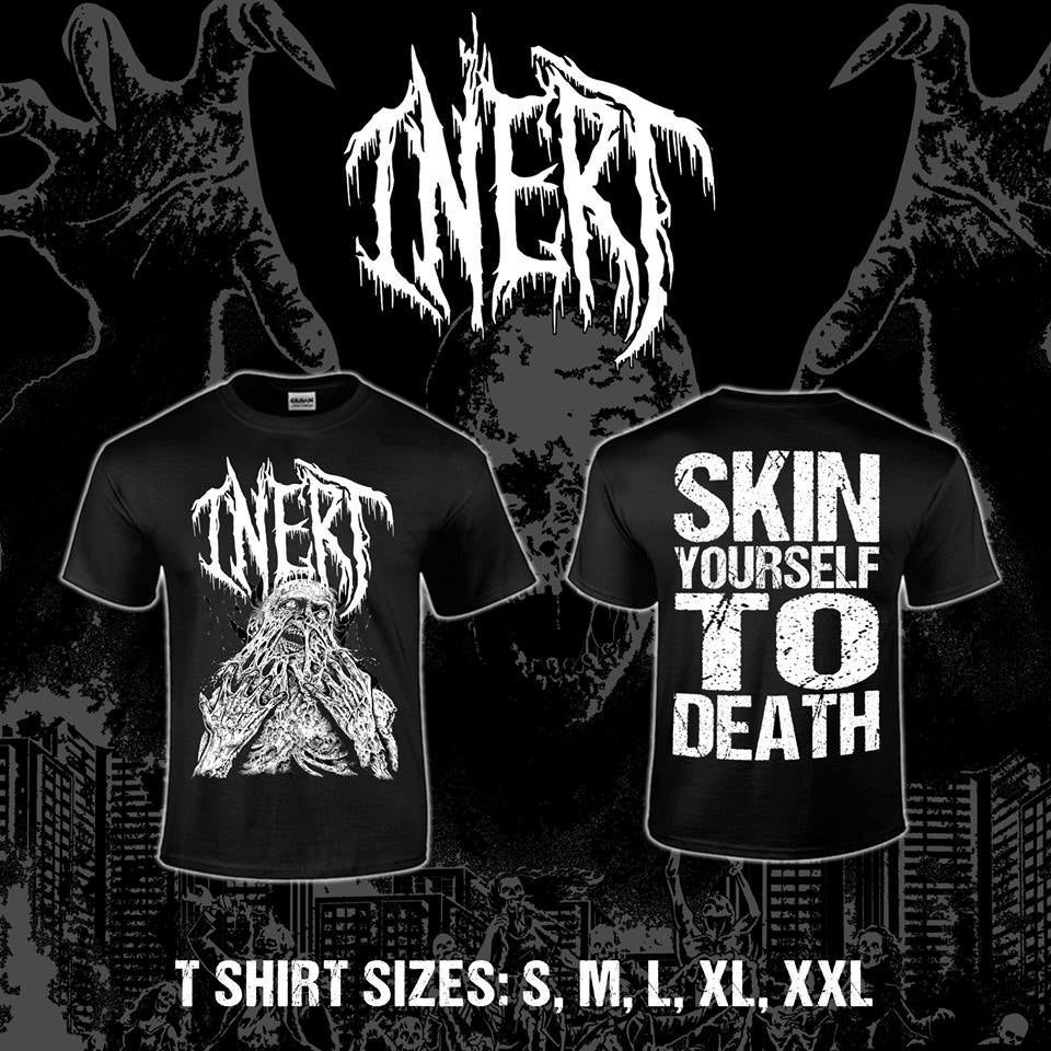 Image of Inert - Skin Yourself To Death Shirt