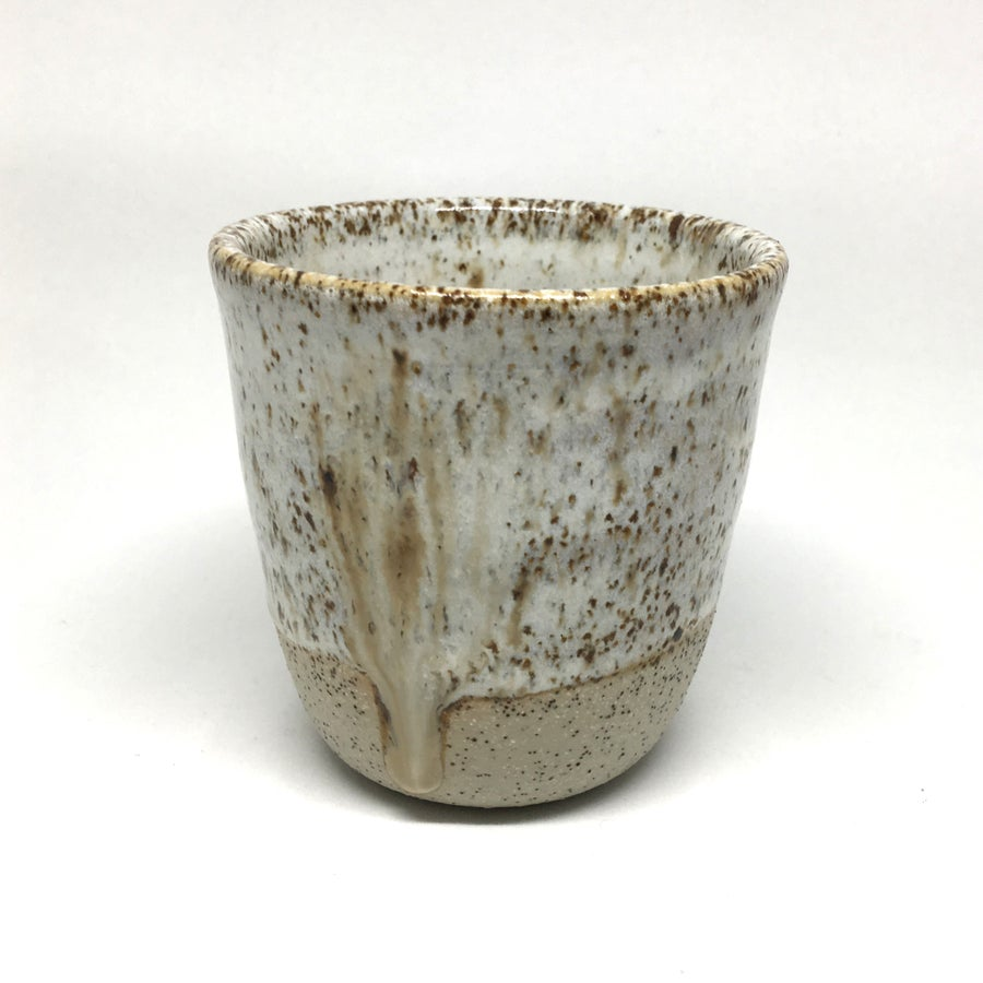 Image of Handmade small speckle cup - 1 left!