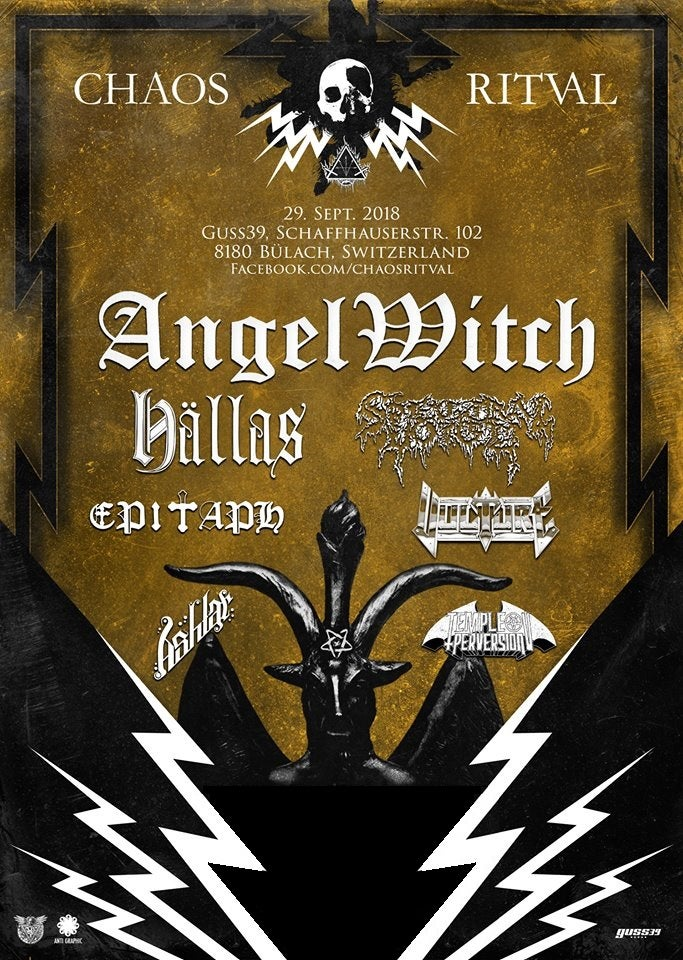 Image of CHAOS RITVAL 2018 - Ticket