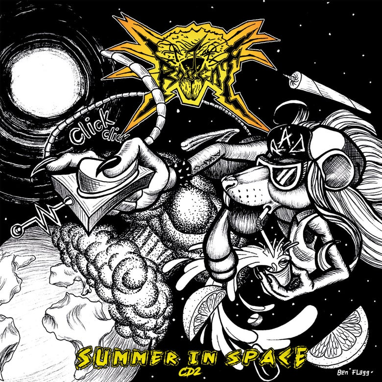 Image of Rodent - Summer In Space  2xCD