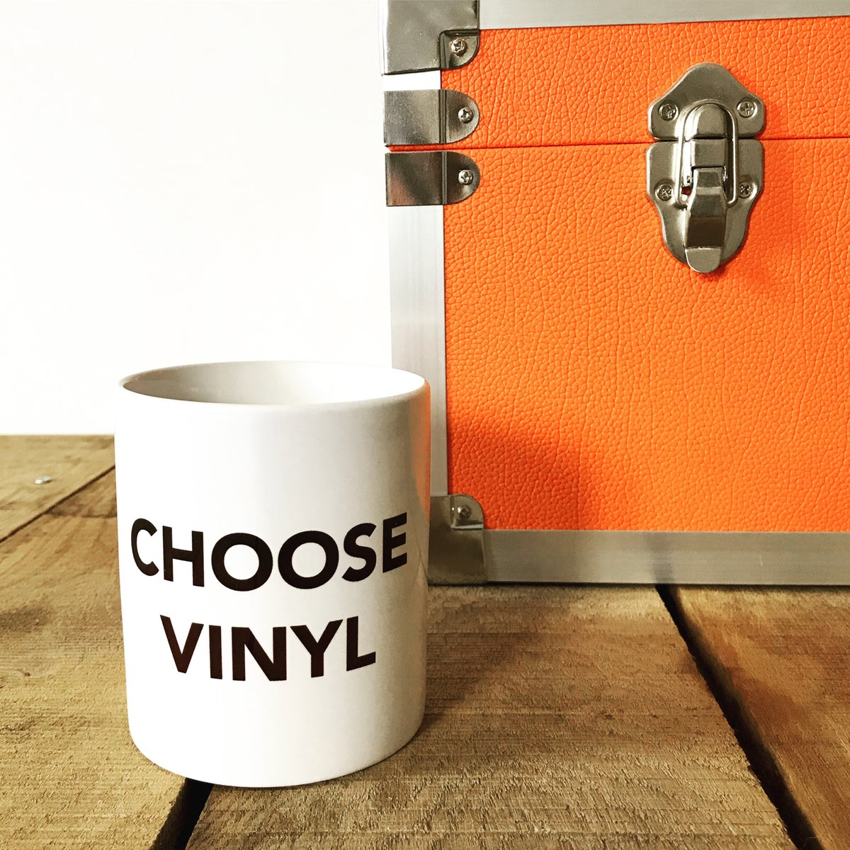 Image of CHOOSE VINYL mug