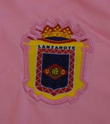 Image of UD Lanzarote Away Kit Complete Adult Pink/White