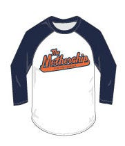 Image of The Mothership Logo Baseball Style Shirt with 3/4 sleeves