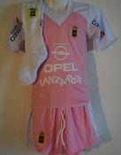 Image of UD Lanzarote Away Kit Complete Child Pink/white