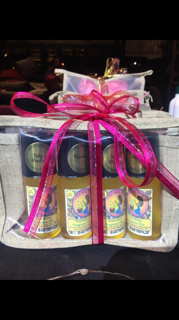 Image of Fragrance Oil 4 Pack