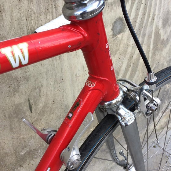 Image of Chesini race bike