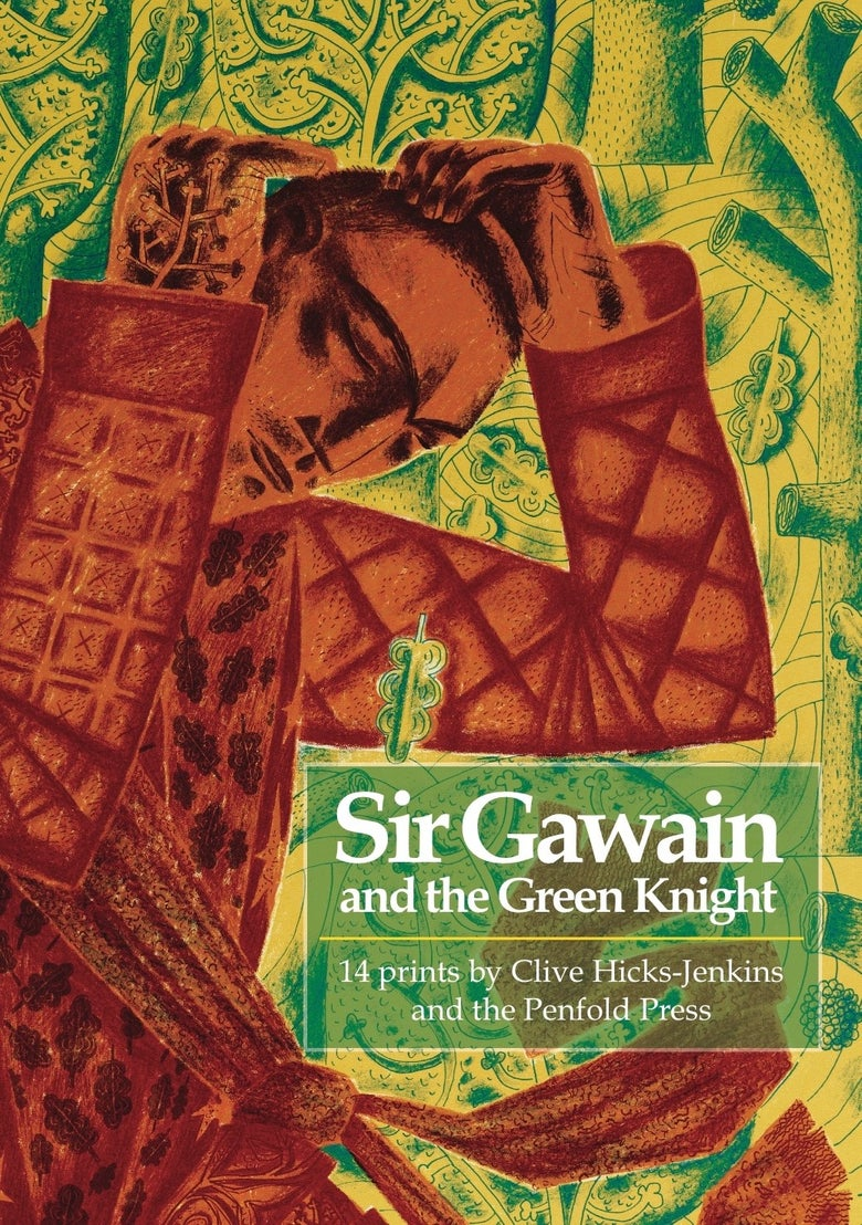 Image of Sir Gawain and the Green Knight: 14 prints by Clive Hicks-Jenkins and the Penfold Press