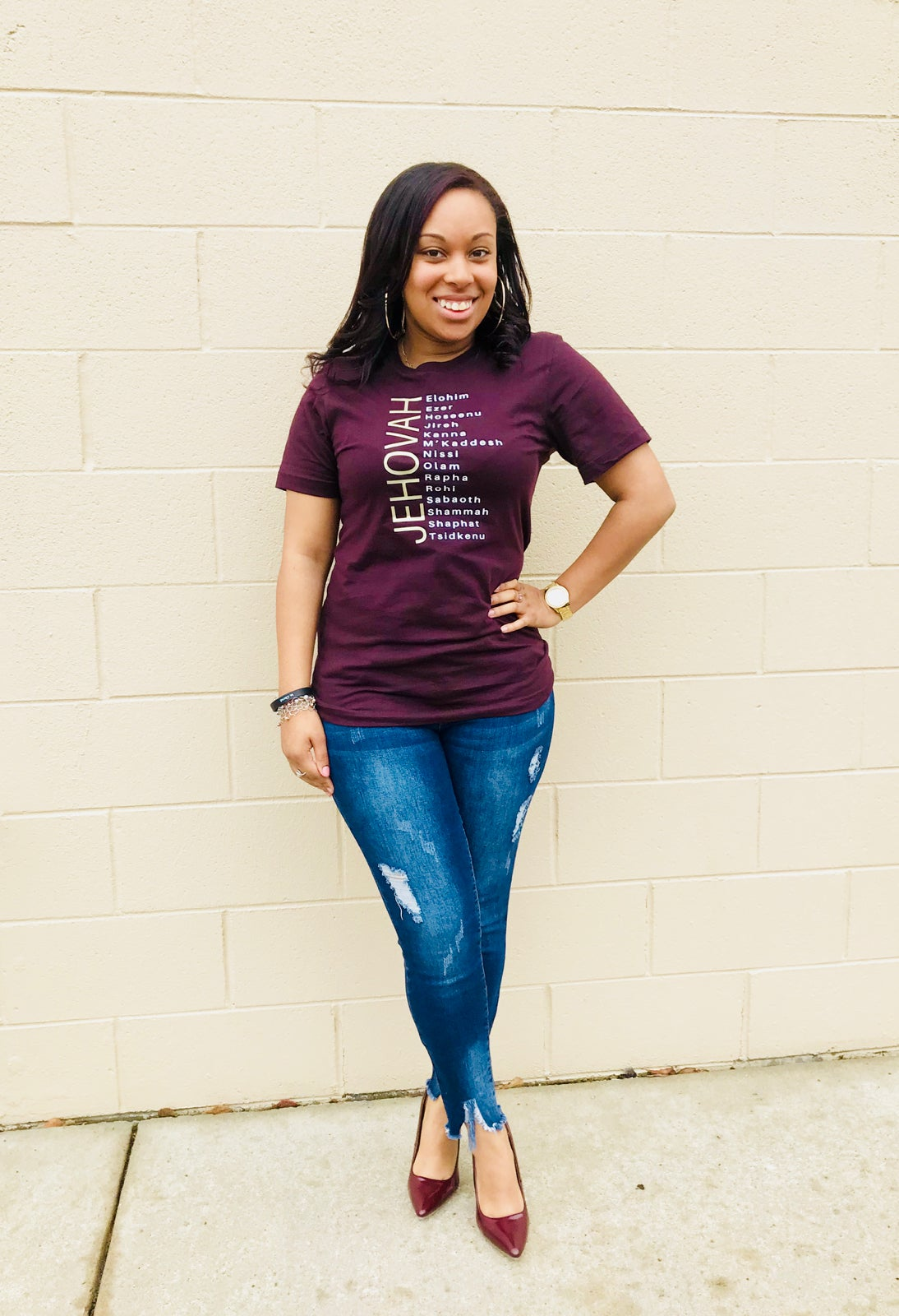Image of JEHOVAH [Burgundy OR Black]