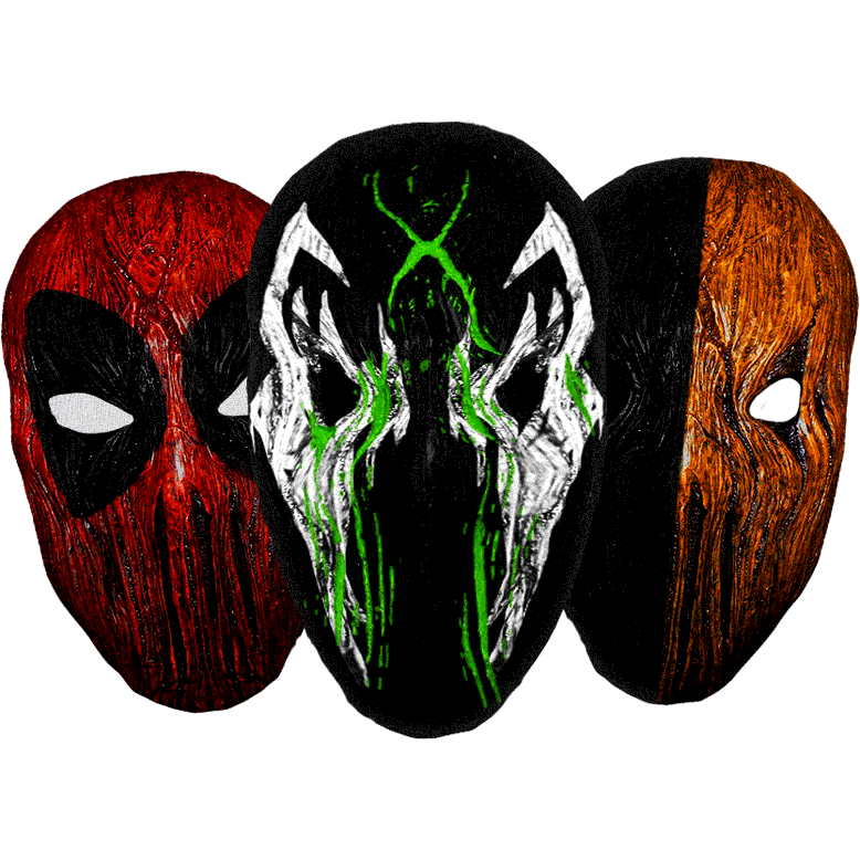 "Image of ""Insidious"" Deluxe Mask (Click to view styles)"