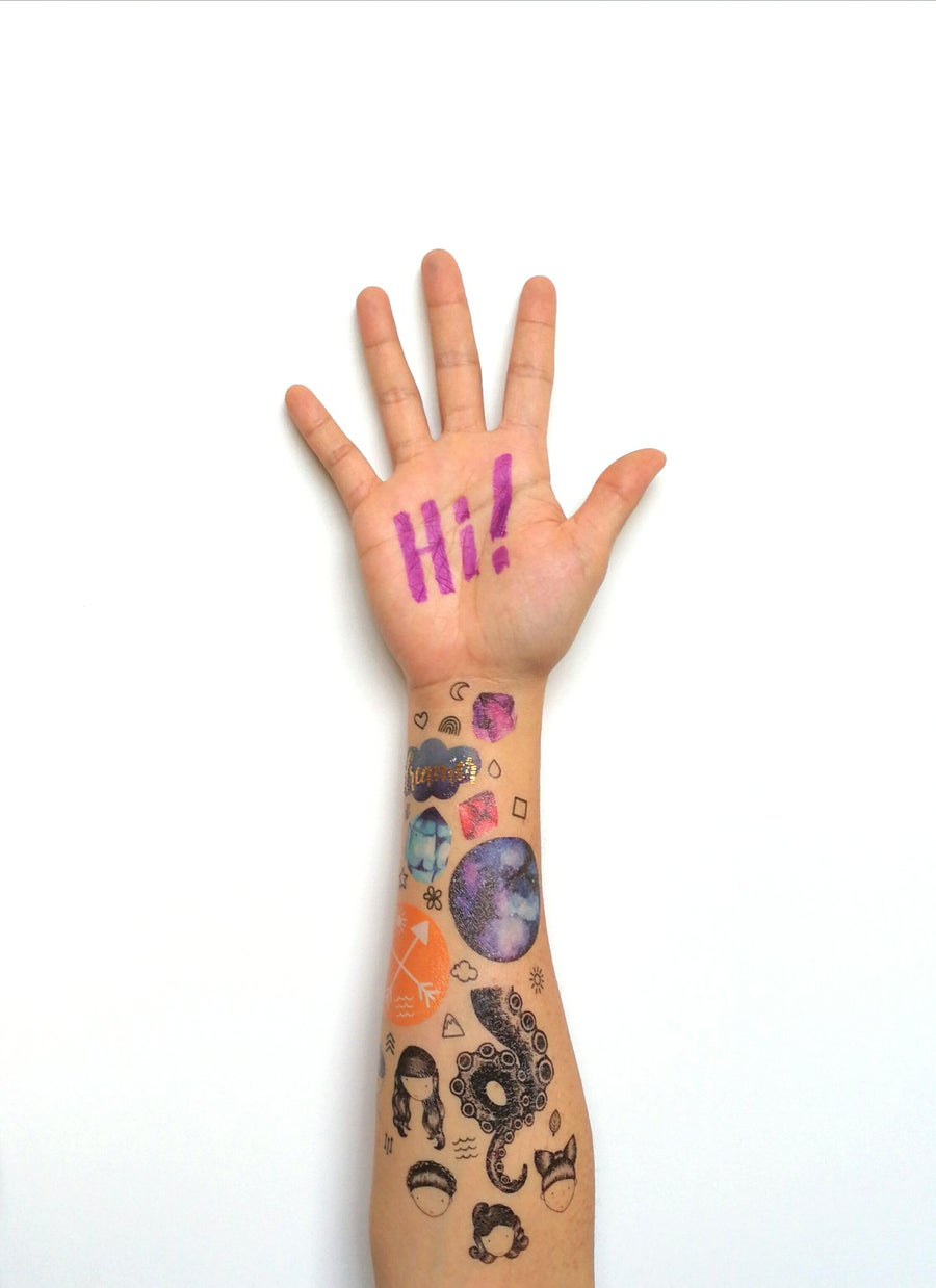 Image of Temporary Tattoos (35 pcs/pack)