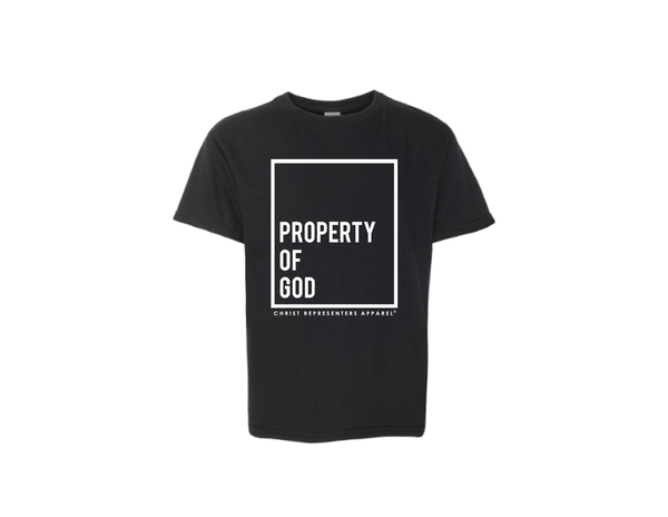 "Image of Youth ""PROPERTY OF GOD"" Unisex Tee"