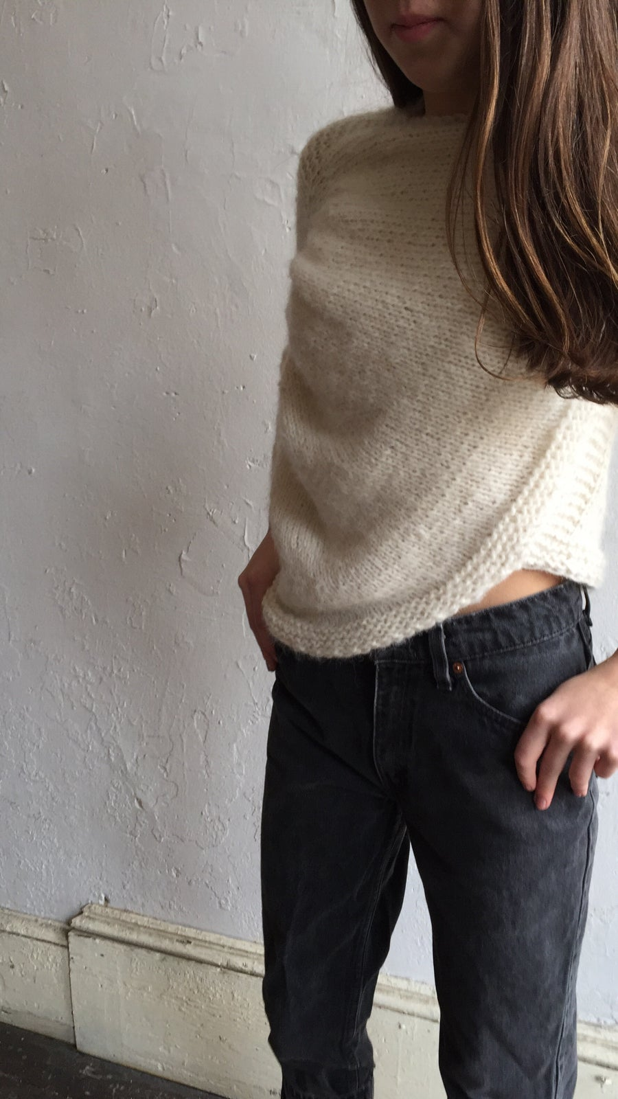 Image of Stellapop Asymmetrical Sweater.